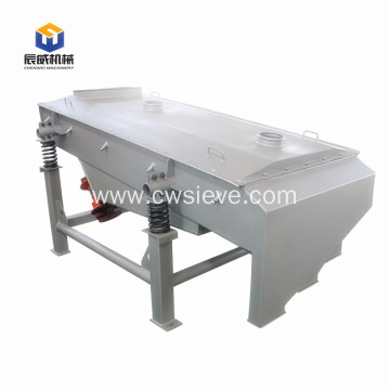 carbon steel linear vibrating screen for river sand